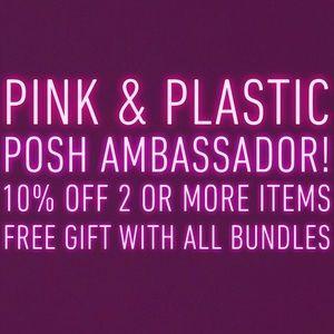 PINK & PLASTIC ♥️